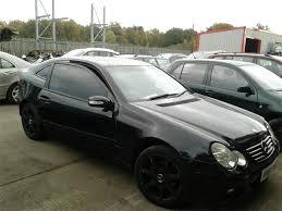 mercedes 3 door coupe 2004 mercedes c class c180k se 1796cc supercharged petrol
