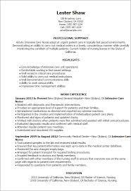 Home Health Nursing Assistant Resume Sample