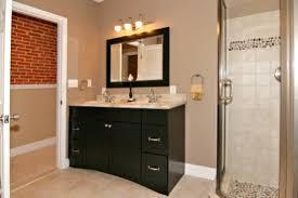 bathrooms with black vanities custom bathroom vanities dominion homes renovations in black