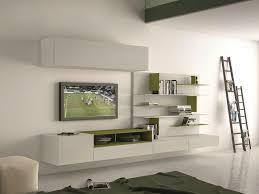 soggiorni presotto parete attrezzata componibile fissata a muro con porta tv i