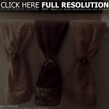 Bathroom Towel Display Ideas by Decorative Bath Towels With Beads Best Bathroom Decoration