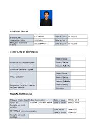 format ng resume mmv cv format