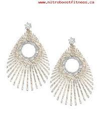 style of earrings earrings make of 90 10 brass 2018 womens new style