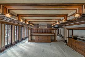 frank lloyd wright s robie house where family life met tragedy wsj a perspective from the dining room showcases wright s revolutionary open floor plan space flows between