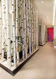 birch tree decor 12 ways to use actual birch trees in your home birch barking