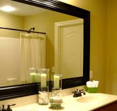 framing bathroom wall mirror favorable bathroom wall mirrors framing mirror ideas tangular