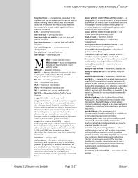 chapter 11 glossary and symbols transit capacity and quality of