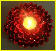 diwali diya decoration best out of waste kidzy planet