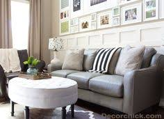 Sofas Center La Z Boyclining by Lazboy Talbot Sofa In Gray Leather With Nailhead Trim Accent Www