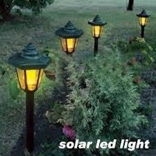 white plastic outdoor lighting outdoor solar hexagon lawn l plastic material solar landscape