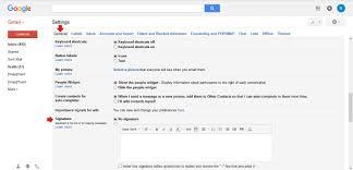 cara mudah membuat signature di email gmail bukugue com