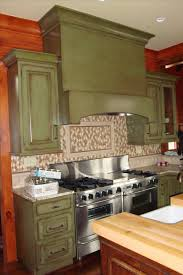 cabin remodeling painted kitchen cabinet ideas freshome green