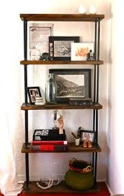 diy shelf ideas built with industrial pipe industrial style