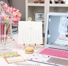 Work Desk Decor Best 25 Feminine Office Decor Ideas On Pinterest Feminine