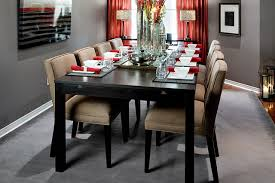 Modern Dining Room Colors Lockhart Gray Dining Room Modern Dining Room
