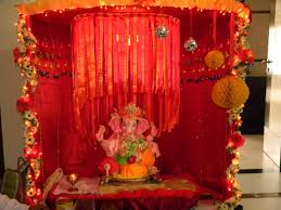decoration themes for ganesh festival at home interior design best ganpati decoration themes home design great
