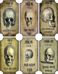 8 best images of vintage apothecary labels halloween witch