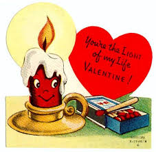 You Re The Light Of My Life Vintage Valentine You U0027re The Light Of My Life Candle And