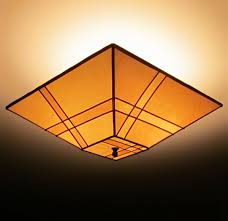 Light Bulb Shades For Ceiling Lights Pieced Parchment Paper Square Ceiling L Shade Sue Johnson