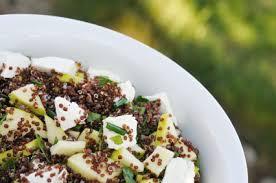 comment cuisiner le quinoa recettes comment préparer une salade de quinoa fraiche et savoureuse