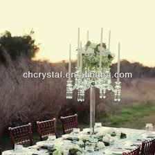 chandelier centerpieces waterfall wedding chandelier centerpieces floral