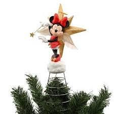 disney minnie mouse light up tree topper co uk kitchen home