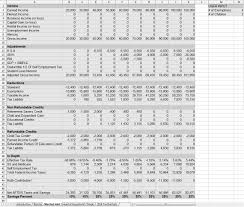Financial Spreadsheet Updated Financial Planning Spreadsheets Economics
