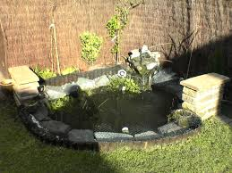 small koi pond ideas backyard landscaping with small pond ideas
