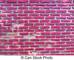 Pink Brick Wall Stock Photo Of Rustic Pink Rosy Brick Wall Background
