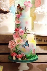 theme wedding cake secret garden themed wedding cake melitafiore