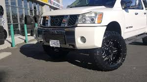 nissan frontier 6 inch lift kit 2005 nissan titan 4inch lift kit 35x12 50r20 toyo mt installed