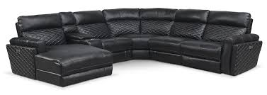 Sectional Sofa With Recliner Catalina 6 Piece Power Reclining Sectional With Left Facing Chaise