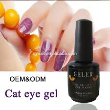 sales high quality cat eyes nails gel color uv nail gel for