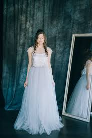 two color wedding dress two colored wedding dress bridal gown