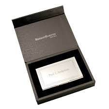 Leather Personalized Business Card Holder Personalized Business Card Holder