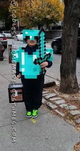 Minecraft Villager Halloween Costume Minecraft Diamond Armor Steve Costume Costume Works Halloween