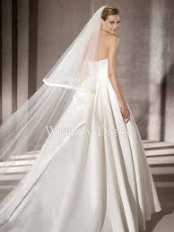 Chapel Train Wedding Dresses Chapel Train Floor Length Satin Ivory Embroidery Beading Zipper