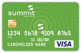debit cards summit debit cards summit credit union