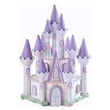 Princess Cake Purple Princess Castle Cake Wilton