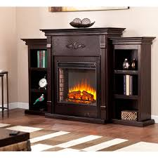 Fireplaces With Bookshelves by Tall Electric Fireplace Bellacor