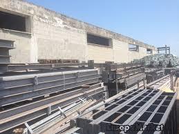 capannone usato capannone industriale in ferro zincato 1200mq europe market