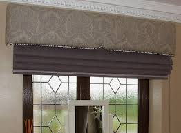 Roman Blinds Sheffield Upholstered Pelmet With Roman Blind We Used A Tiny Houles Bobble