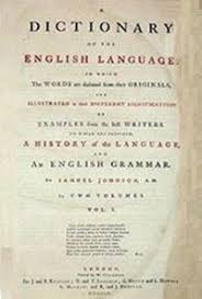 a dictionary of the language