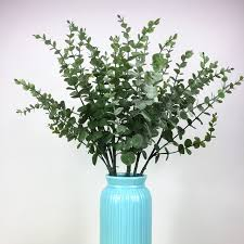 wedding flowers eucalyptus 5pcs green leave eucalyptus leaf silver dollar wall