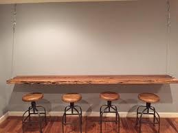 Live Edge Bar Table Dining Tables Figured Black Walnut Lumber Live Edge Furniture