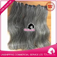 grey hair extensions weft hair 12 32 grey hair 100 remy hair extensions