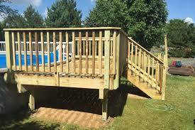 photo galleries pool decks rock solid builders inc
