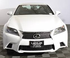 lexus sedan white white lexus gs 350 for sale used cars on buysellsearch