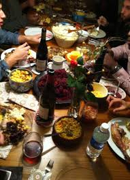 thanksgiving last year my place oh so food makes me