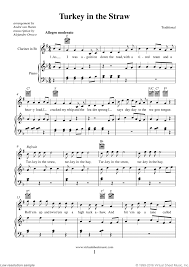 thanksgiving collection new edition sheet for clarinet and